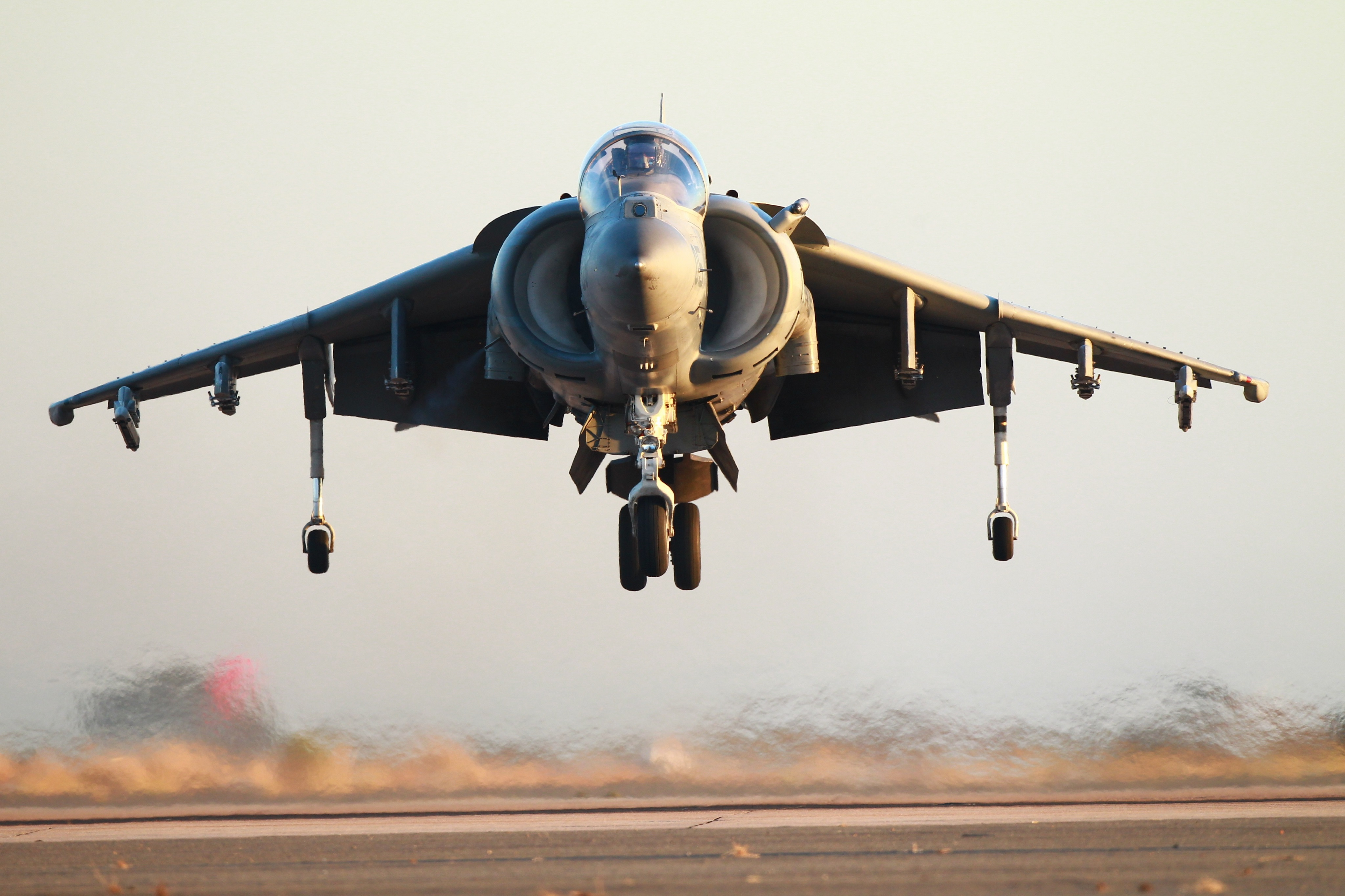 This Is How One Gutsy Harrier Pilot Survived Catastrophic