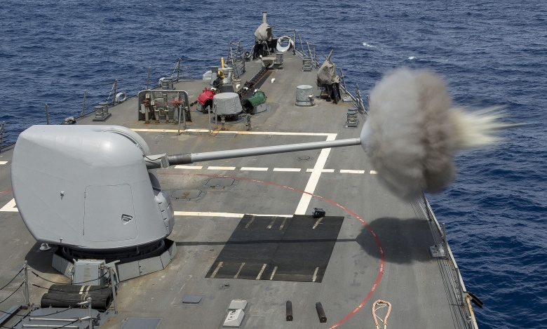 The U S Navy S Lethal New Precision Guided Artillery