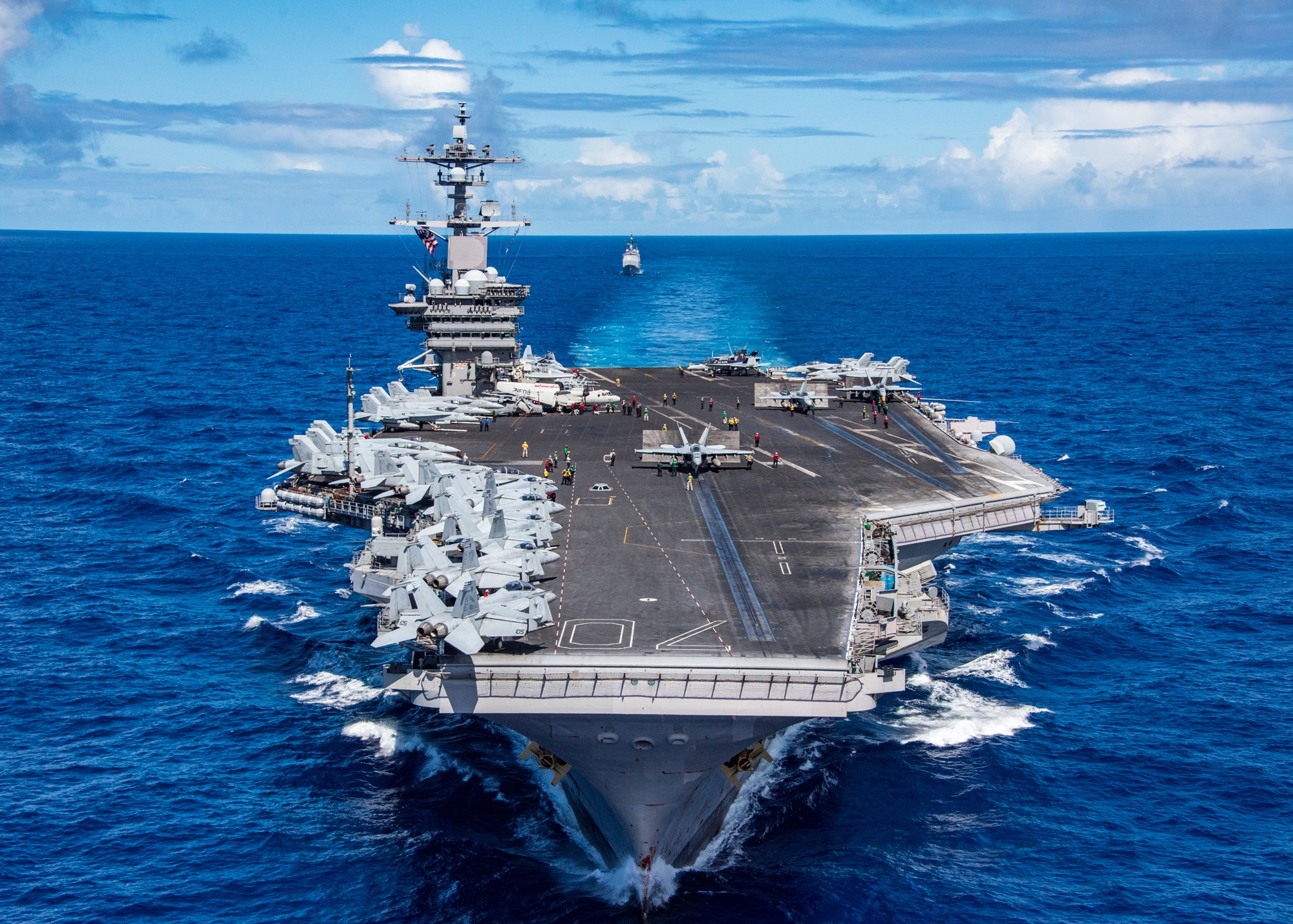 Nimitz: The Aircraft Carriers Russia, China and North ...