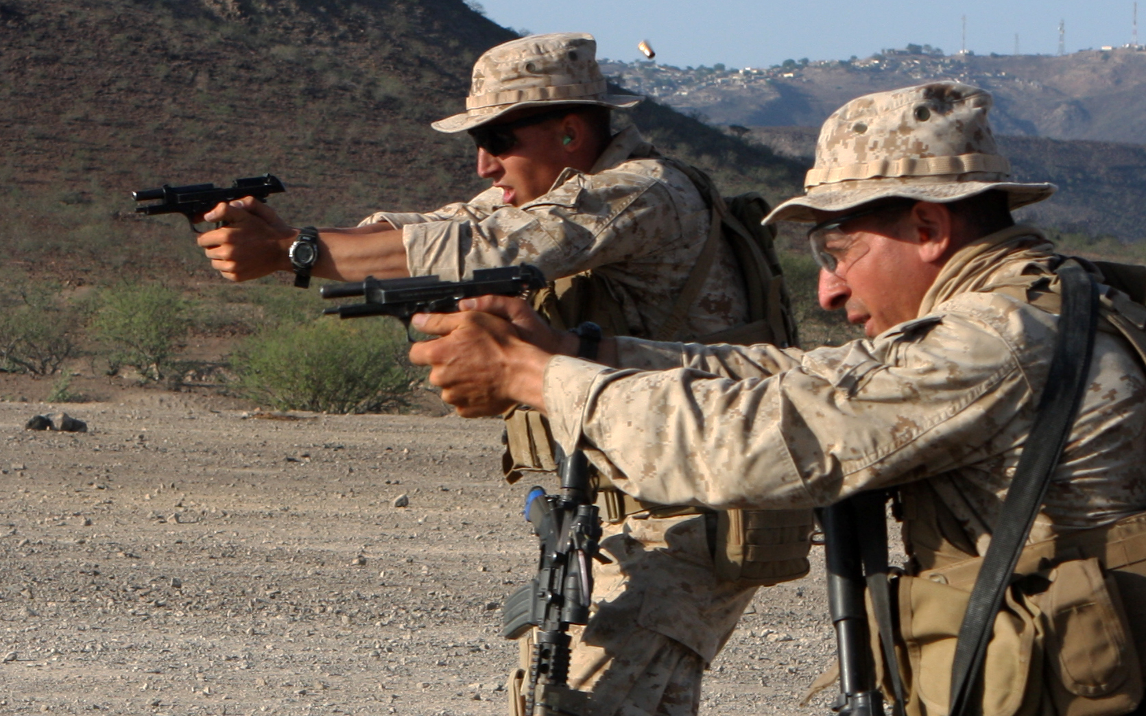 This Is What Happened When The U S Marines Put The M9 And