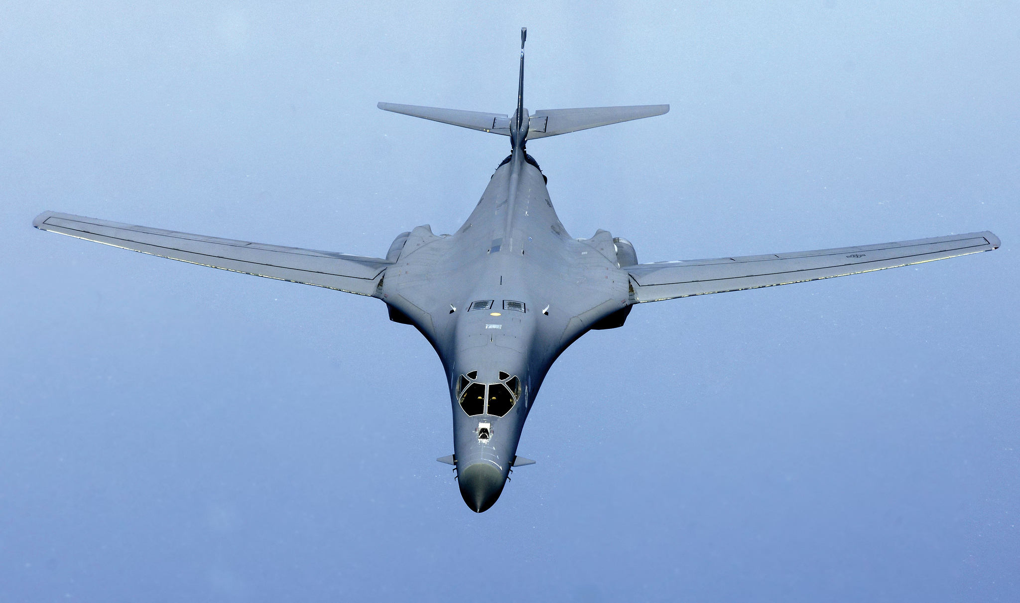 The B-1 Bomber: The Supersonic Killer North Korea Should ... B1 Lancer Supersonic