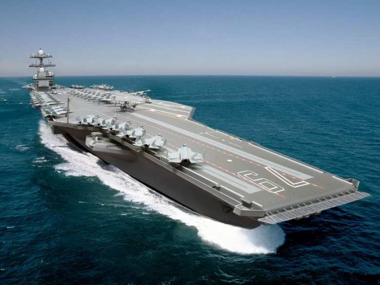 Uss Barack Obama Building A Future Aircraft Carrier The