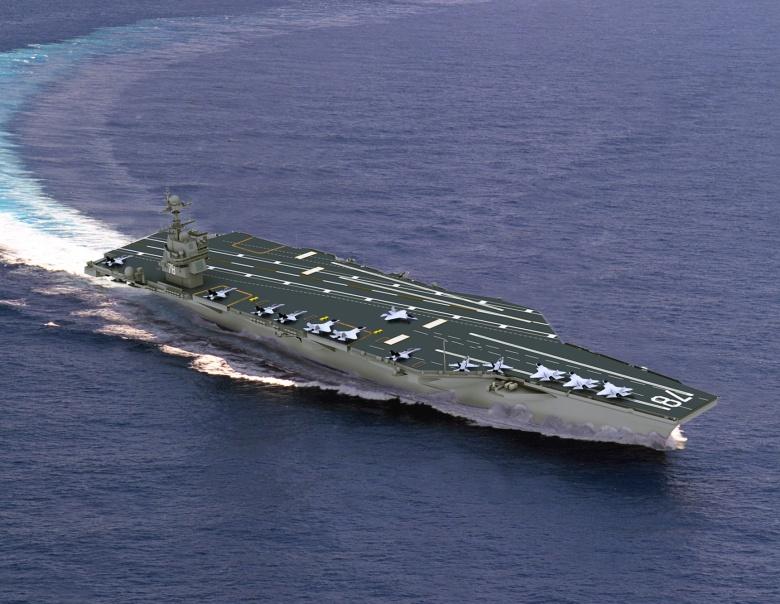 USS Enterprise CVN-80 2027 CVN-78_Artist_Image