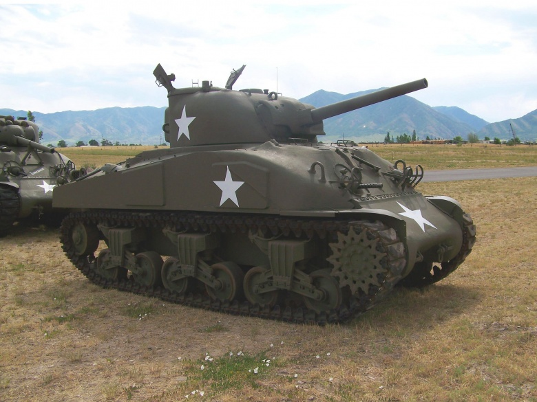 Wwii sherman tanks back in action in 2016 the national interest blog - Army tank pictures ...