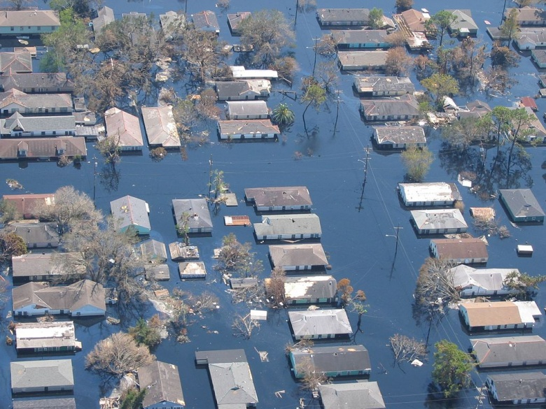 Image result for katrina disaster
