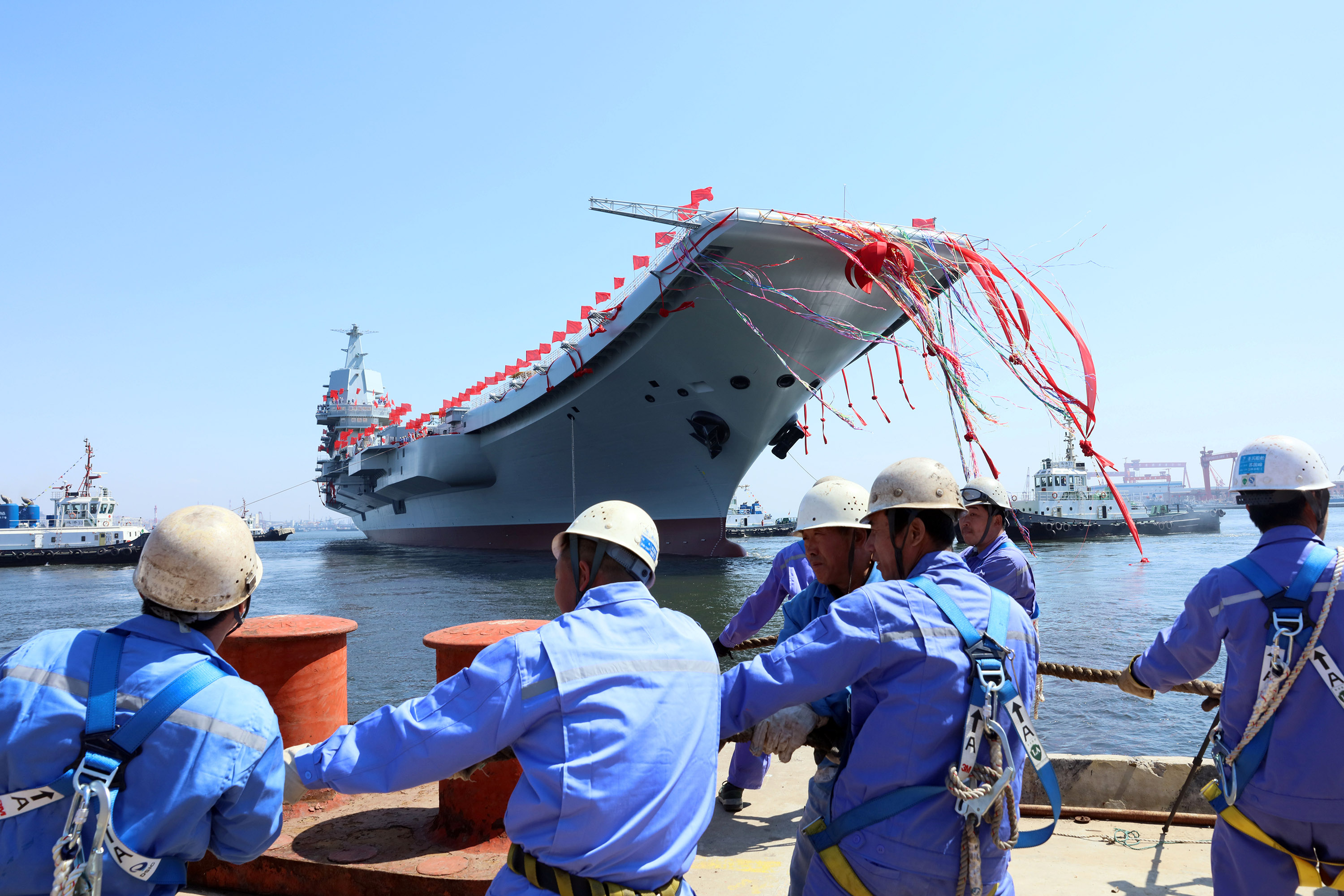 China's Navy Is Going Global