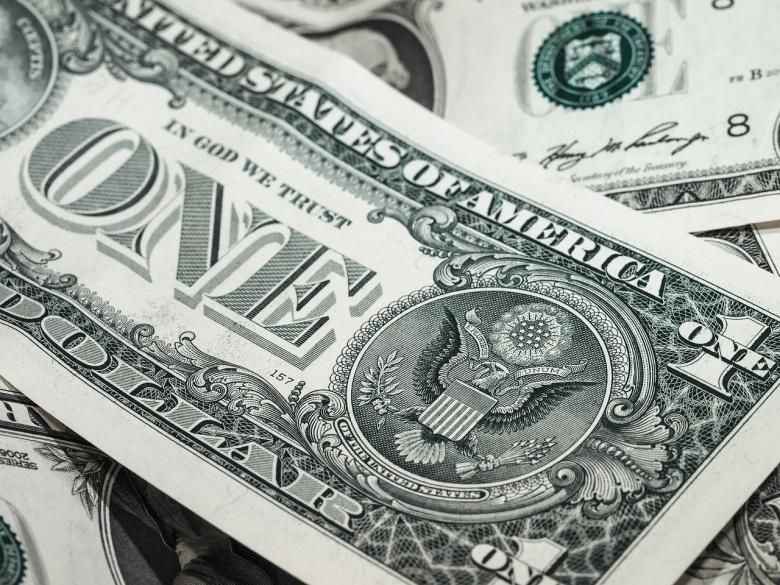 A one-dollar bill. Pixabay/Public domain