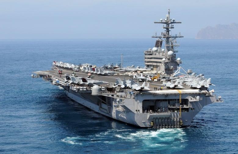 Впервые после Вьетнамской войны: в марте американский авианосец зайдёт в порт Дананг