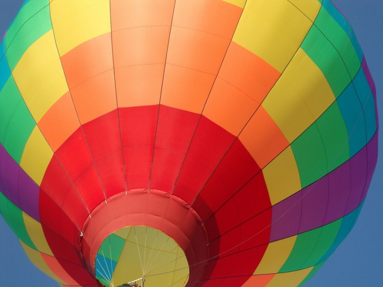 Image: A hot air balloon. Photo by GillKeith/Pixabay.
