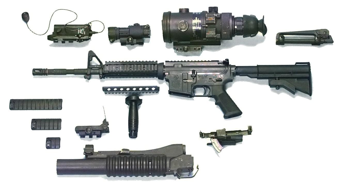 Штурмовая винтовки colt m4 / m4a1
