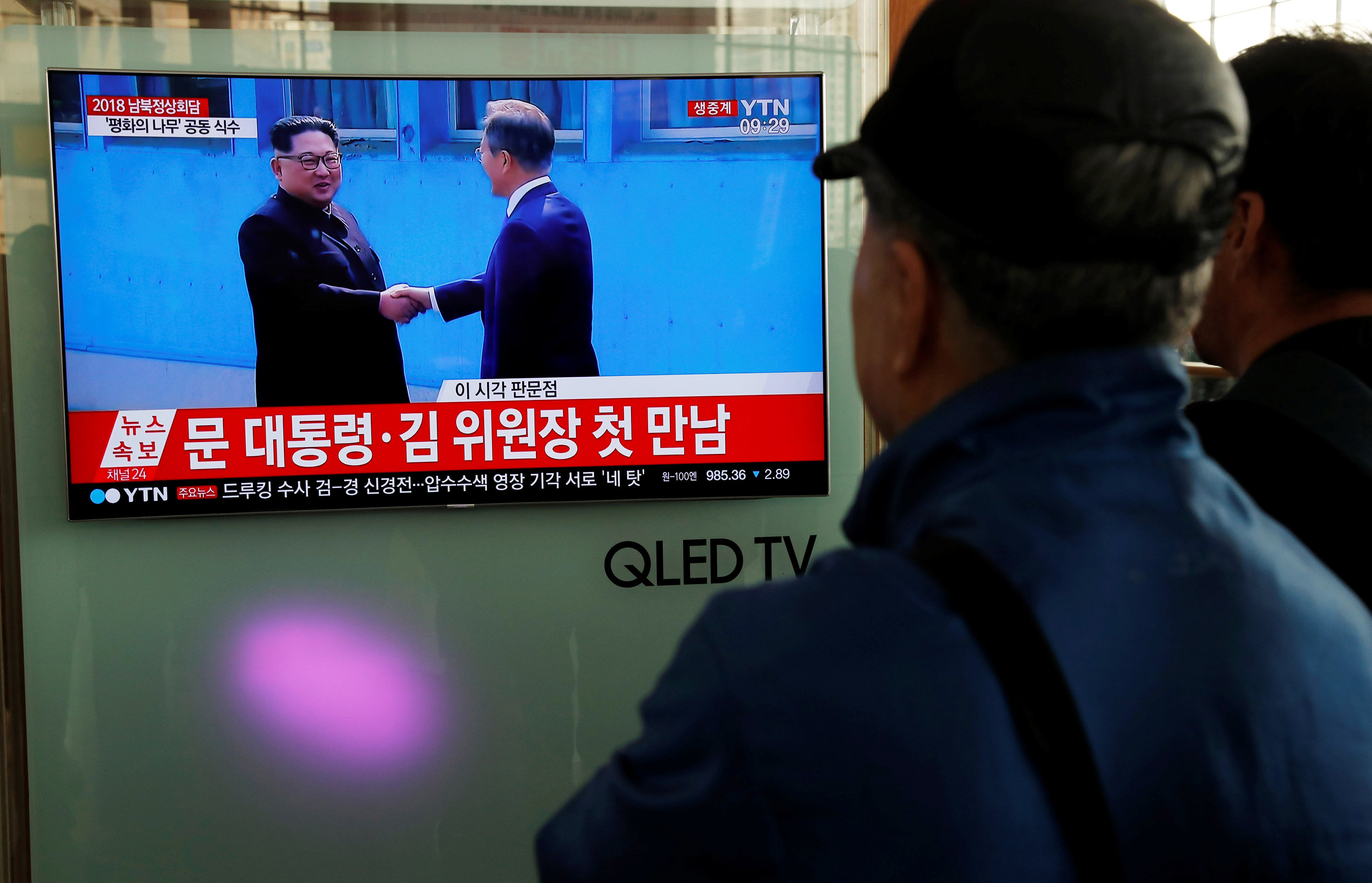 """the war and peace negotiations between north and south korea Hace 1 día """"holding back the """"war games"""" during the negotiations was my request because  so much"""" to north korea,  training between south korea and."""