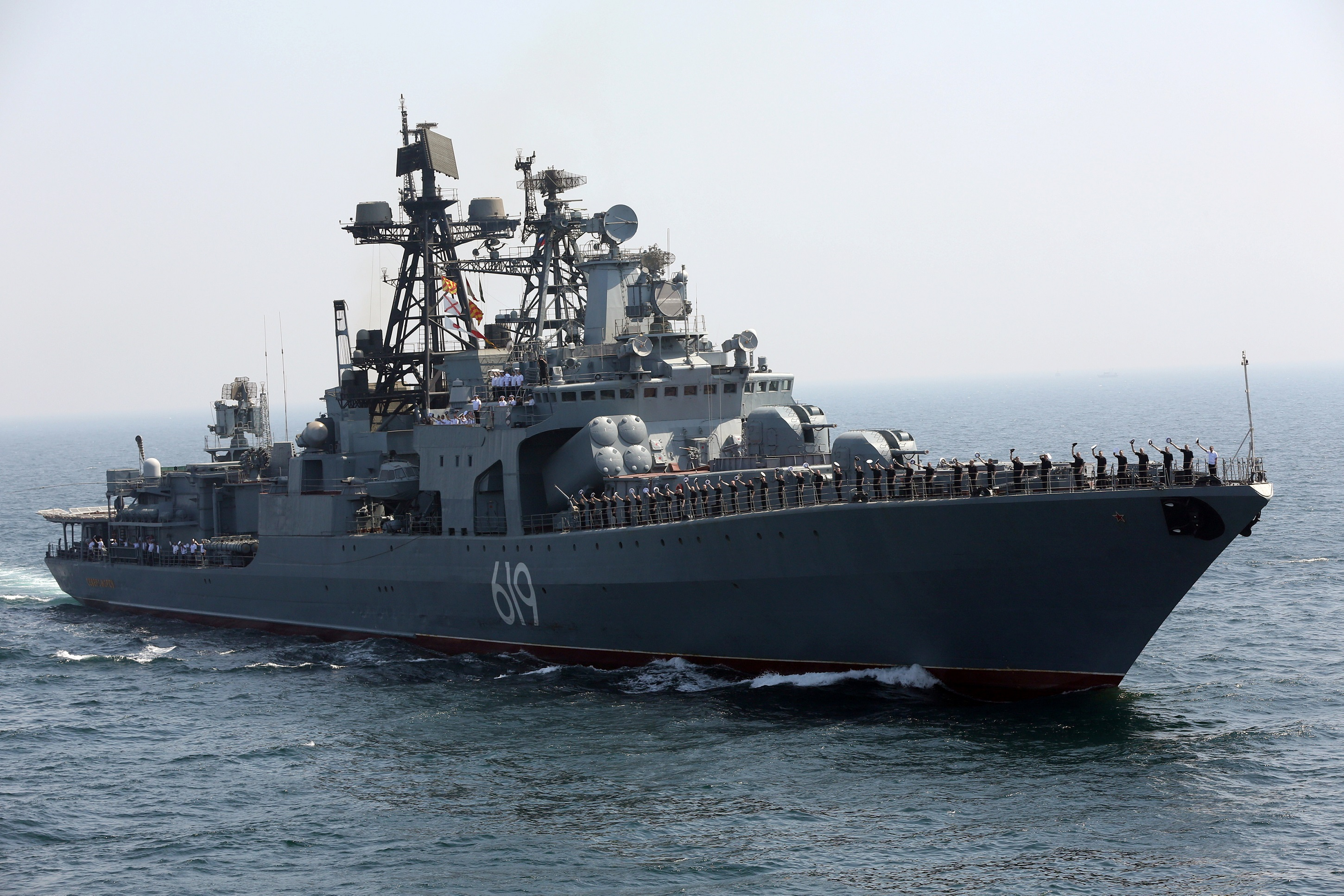 Imagine This Almost Every Russian Warship Armed With