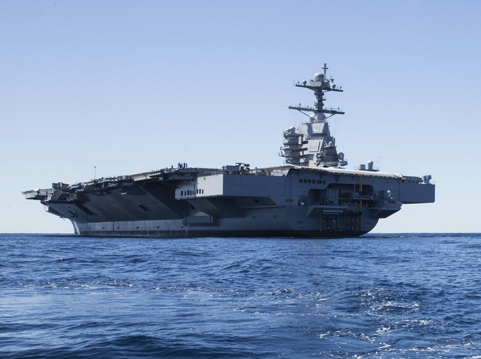 The U.S. Navy's Most Powerful Aircraft Carrier Ever Is ...