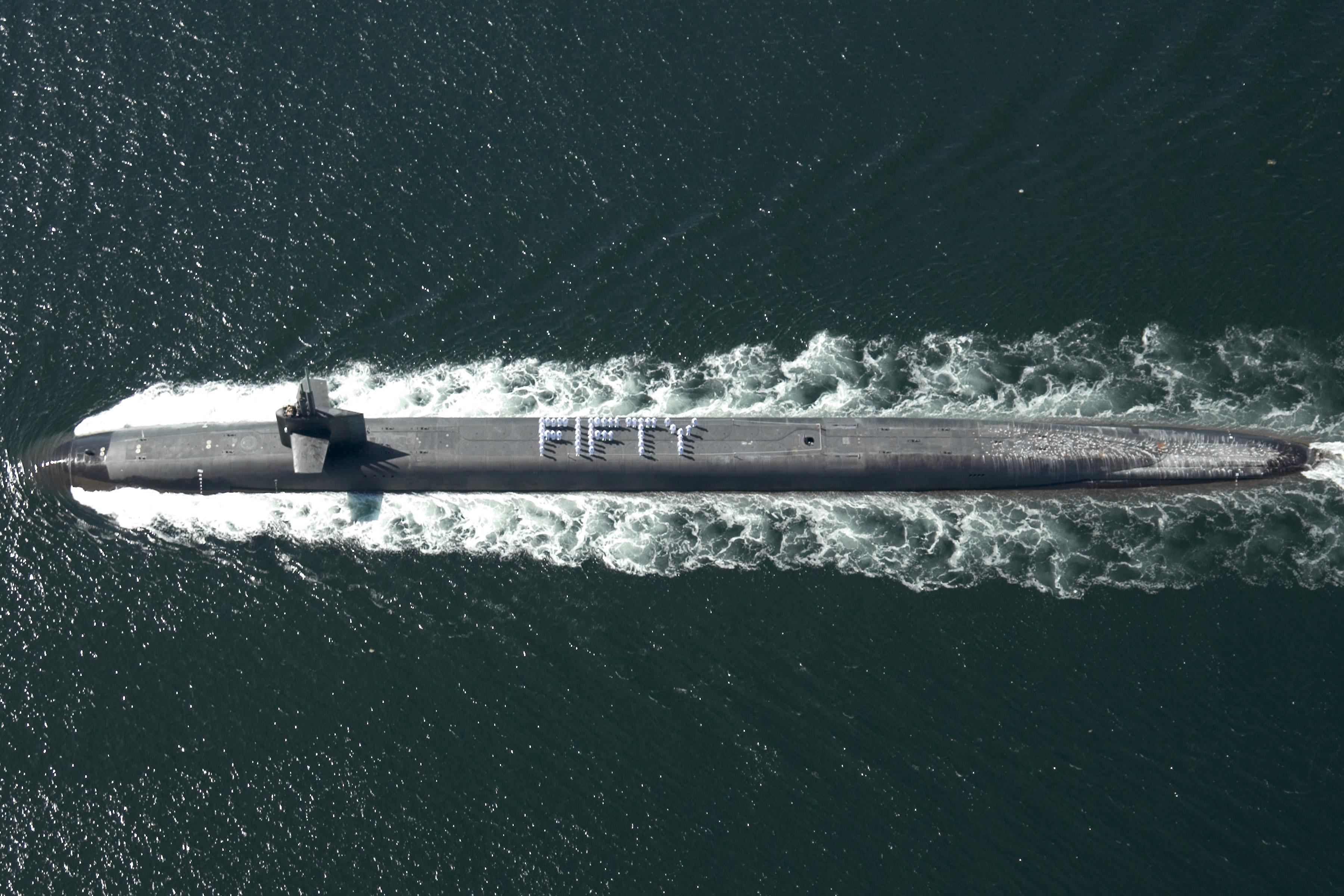 Submarine West Island
