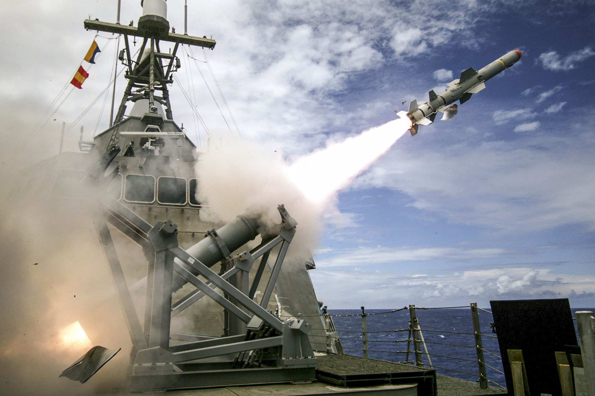 Boeing Harpoon Exits Navy LCS, Frigate Over-the-Horizon ...