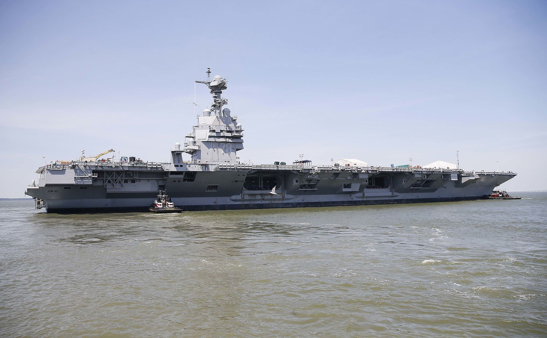 America S Most Powerful Aircraft Carrier Ever Is Close To