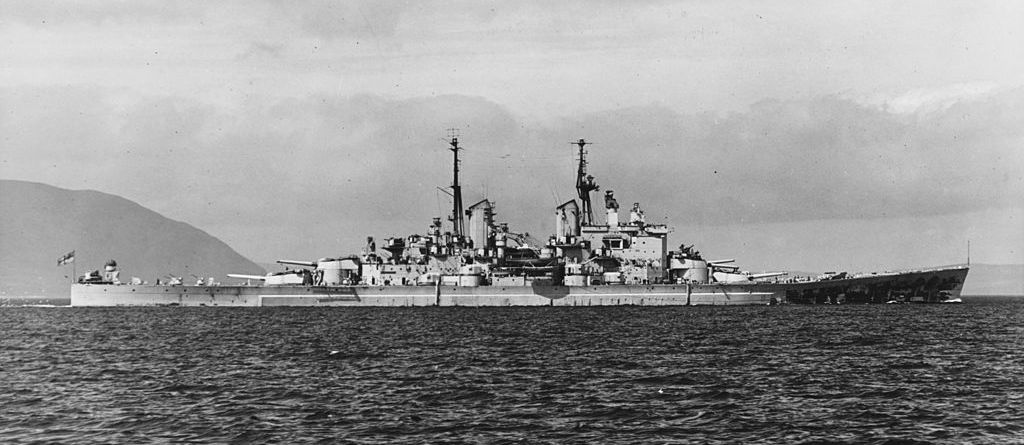 Great Britain S Last Super Battleship Was A True Monster