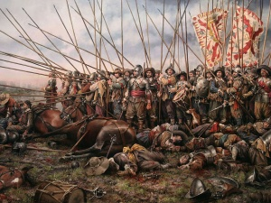 Augusto Ferrer-Dalmau's The Battle of Rocroi.