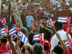 Fidel Castro in 2005. Wikimedia Commons/Creative Commons/Volker Hüttig