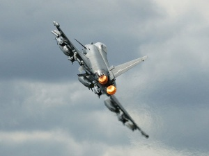 Eurofighter Typhoon. Wikimedia Commons/Vladimir Korolkov/Public domain
