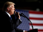 President Donald Trump announces his strategy for the war in Afghanistan during an address from Fort Myer, Virginia
