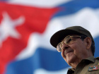 Raúl Castro attends the May Day parade at Havana's Revolution Square, May 1, 2008. Sven Creutzmann/Pool via Reuters
