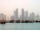 Doha skyline.