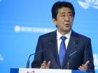Prime Minister of Japan Shinzo Abe at the Eastern Economic Forum. Kremlin.ru