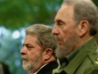 Fidel Castro and Luiz Inácio Lula da Silva in 2003. Wikimedia Commons/Creative Commons/Ricardo Stuckert/Agência Brasil