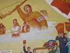 Mural at Pyongyang Film Studios. Flickr/Creative Commons/John Pavelka
