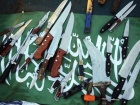 Knives used during the Mavi Marmara operation. Wikimedia Commons/Israel Defense Forces