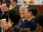 U.S. President Donald Trump and China's President Xi Jinping attend a state dinner at the Great Hall of the People in Beijing, China, November 9, 2017. REUTERS/Thomas Peter