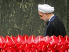 Hassan Rouhani at Iran's 10th parliament inaugural celebration. Wikimedia Commons/Creative Commons/Mahmoud Hosseini
