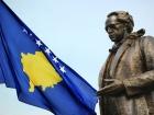 Statue of Ibrahim Rugova in Pristina. Wikimedia Commons/@AgronBeqiri