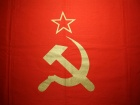 Flag of the Soviet Union. Wikimedia Commons/Ericmetro
