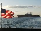 Amphibious assault ship USS Tarawa. Wikimedia Commons/U.S. Navy