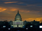 U.S. Capitol on the morning of Donald Trump's inauguration. Wikimedia Commons/U.S. National Guard