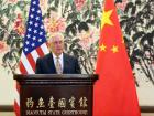 U.S. Secretary of State Rex Tillerson addresses media in Beijing. Flickr/U.S. Department of State