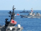 U.S. Navy and Japan Maritime Self-Defense Force ships underway in formation as part of a photo exercise on the final day of Keen Sword 2011. Wikimedia Commons/U.S. Navy