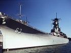 The USS Missouri. Wikimedia Commons/Richard Brown