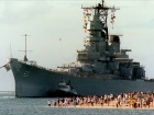 USS Missouri arrives in Pearl Harbor, 1998. Wikimedia Commons/U.S. Navy
