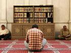 Men reading the Koran in the Umayyad Mosque, Damascus, Syria. Wikimedia Commons/Creative Commons/Erik Albers