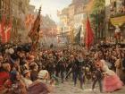 Danish soldiers return to Copenhagen, 1849. Wikimedia Commons/Public domain