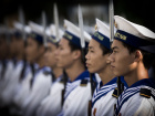 Vietnamese People's Navy sailors. Wikimedia Commons/U.S. Navy