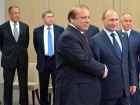Presidents Vladimir Putin and Nawaz Sharif. Wikimedia Commons/Kremlin.ru