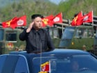 North Korea's leader Kim Jong Un inspects artillery launchers ahead of a military drill marking the 85th anniversary of the establishment of the Korean People's Army (KPA) on April 25, 2017. KCNA/File Photo