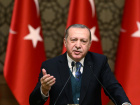 Turkish President Tayyip Erdogan speaks during a ceremony in Ankara, Turkey, December 21, 2017. Kayhan Ozer/Presidential Palace/Handout via REUTERS