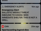 Hawaii endured a now-famous false alarm on Saturday. The alarm this time was about an inbound ballistic missile, not a tsunami. Ridicule of Hawaii's system and management followed quickly, validating the cliché that no good deed goes unpunished. Hawaii's effort should be applauded, not scorned, but dismissive scorn is easier. Politicians demand action to find cause, and assurance that it won't happen again. Translation: Fire the poor blighter who pushed the wrong button, fire all the officials in the Hawaii