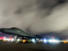 A U.S. Air Force B-1B Lancer bomber sits on the runway at Anderson Air Force Base, Guam July 18, 2017. U.S. Air Force/Airman 1st Class Christopher Quail/Handout/File Photo via REUTERS.