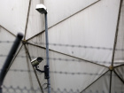 A security camera is pictured within the monitoring base of the U.S. National Security Agency (NSA) in Bad Aibling, south of Munich, August 13, 2013. REUTERS/Michael Dalder